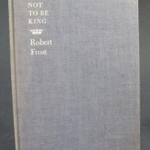 A collection of Robert Frost poems signed by the poet laureate.
